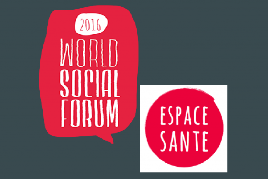 PHM at the 2016 World Social Forum