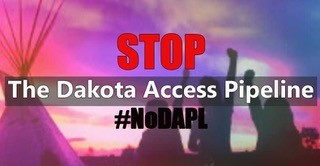 (English) We support the Standing Rock Sioux's struggle to stop the Dakota Access Pipeline.