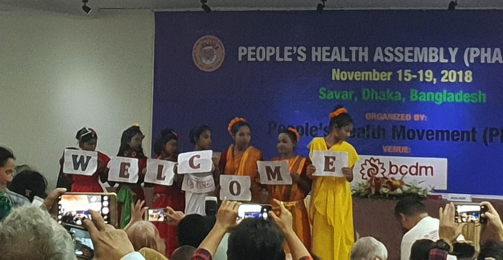 (English) News from the 4th People's Health Assembly!