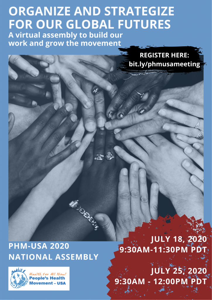 PHM-USA National Meeting 2020