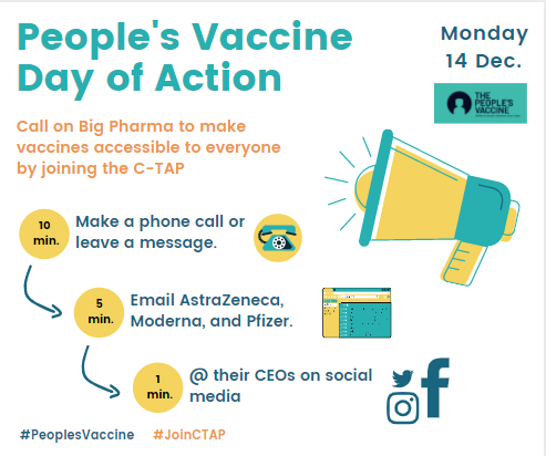 (English) Day of Action to Demand a #PeoplesVaccine